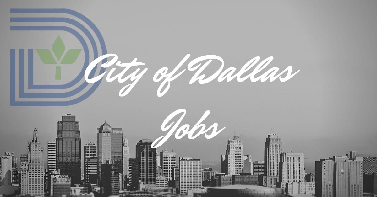 City of Dallas Jobs
