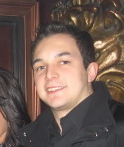 Me during senior year in college with a receded hairline and my widows peak gone.