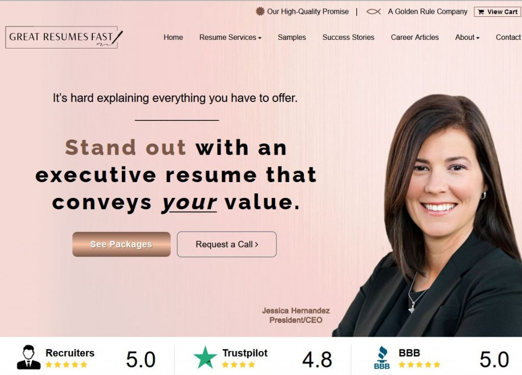 Most of our top rated resume writers have owners that are heavily involved in their operations.