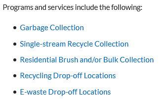 Dallas Sanitation provides 9 essential services.