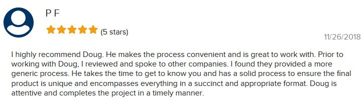 This review specifically mentions Doug, the owner of JobStars.