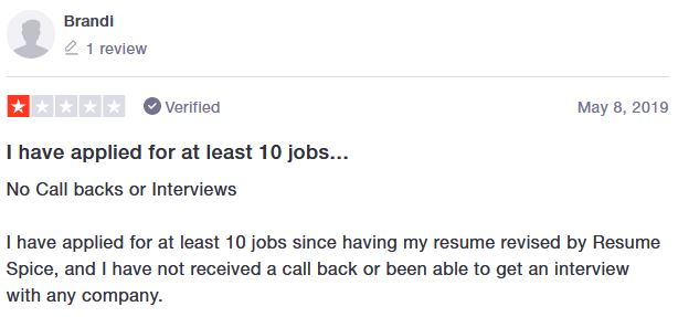 The company has less than 1% negative reviews. This person didn't get the results they were looking for.