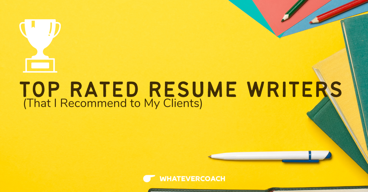 Only the Top Rated Resume Writing Services